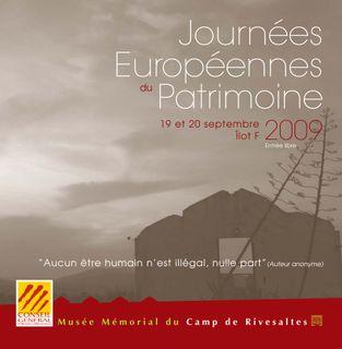Programme journées patrimoine 2009-1